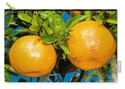 Orange Fruit Growing On Tree Carry-all Pouch