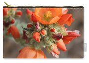 Orange Globe Mallow Closeup Carry-all Pouch