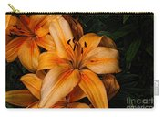 Orange Lilies Carry-all Pouch