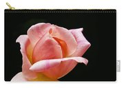 Orange Rose Bud Carry-all Pouch