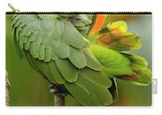 Orange-winged Parrot Amazona Amazonica Carry-all Pouch