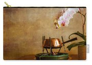 Orchid And Copper Fondue Carry-all Pouch