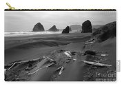Oregon Coast 2 In Bw Carry-all Pouch