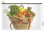 Organic Fruit And Vegetables In Shopping Bag Carry-all Pouch