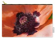 Oriental Poppy Carry-all Pouch