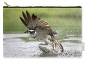Osprey With A Living Fish, Fischadler Carry-all Pouch