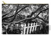 Overflowing A Picket Fence Carry-all Pouch
