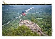 Overlooking Chimney Rock And Lake Lure Carry-all Pouch