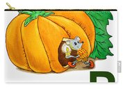 P Art Alphabet For Kids Room Carry-all Pouch