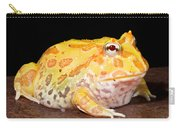 Pac Man Frog Ceratophrys Carry-all Pouch