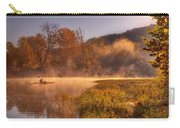 Paddling In Mist Carry-all Pouch