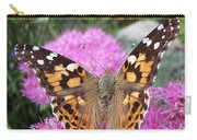 Painted Lady Butterfly Up Close Carry-all Pouch