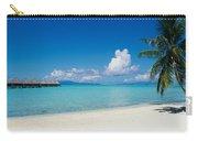 Palm Tree On The Beach, Moana Beach Carry-all Pouch