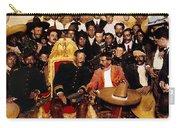Pancho Villa In Presidential Chair And Emiliano Zapata Palacio Nacional Mexico City December 6 1914 Carry-all Pouch