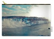 Panorama - Niagara Falls In Winter Carry-all Pouch