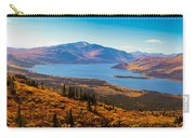 Panorama Of Fish Lake Yukon Territory Canada Carry-all Pouch
