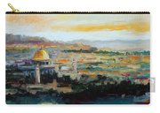 Panorama Of Jerusalem Carry-all Pouch
