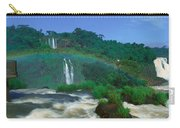 Panoramic View Of Iguazu Waterfalls Carry-all Pouch