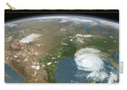 Panoramic View Of Planet Earth Carry-all Pouch