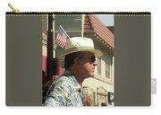 Parade Watcher Flag In Hat July 4th Prescott Arizona 2002 Carry-all Pouch