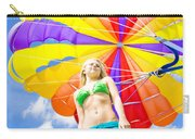 Parasailing On Summer Vacation Carry-all Pouch