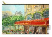 Paris Cafe Carry-all Pouch