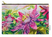 Passionflower Party Carry-all Pouch