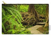 Path In Temperate Rainforest Carry-all Pouch by Elena Elisseeva