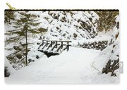 Pathway Through The Snow Carry-all Pouch