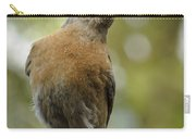 Peering Bluebird Carry-all Pouch