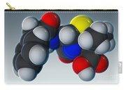 Penicillin V Molecular Model Carry-all Pouch