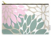 Peony Flowers Carry-all Pouch