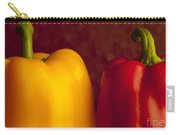 Peppers Still Life Close-up Carry-all Pouch