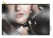 Performing Arts Woman. Romantic Stage Performance Carry-all Pouch