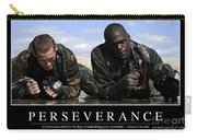 Perseverance Inspirational Quote Carry-all Pouch