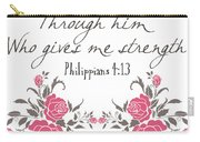 Philippians 4 13 Carry-all Pouch