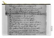 Phillis Wheatley (1753?-1784) Carry-all Pouch