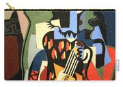 Picasso's Harlequin Musician Carry-all Pouch by Cora Wandel