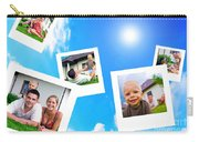 Pictures Of Happy Family Carry-all Pouch
