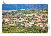Picturesque Mediterranean Island Village Of Kolan Carry-all Pouch