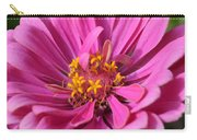 Pink And Yellow Flower Carry-all Pouch