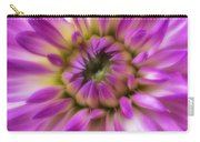 Pink Dahlia Close Up Carry-all Pouch
