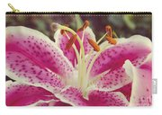 Pink Daylily Carry-all Pouch
