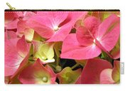 Pink Hydrangea Flowers Carry-all Pouch