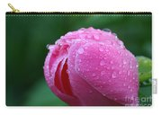 Pink Rain Drops Carry-all Pouch