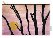 Pink - Sunrise Drawing Carry-all Pouch