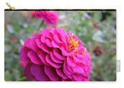 Pink Zinnias Carry-all Pouch