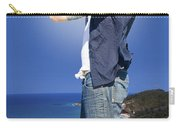Pirate With Spyglass Carry-all Pouch