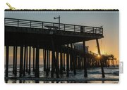Pismo Beach Pier At Sunset, San Luis Carry-all Pouch