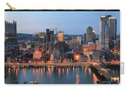 Pittsburgh At Dusk Carry-all Pouch